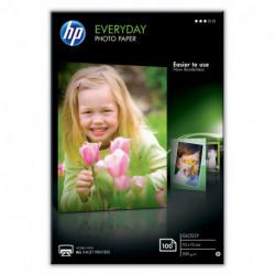 HP Everyday Fotopapier Weiß Glanz CR757A