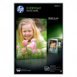 HP Everyday papel fotográfico Blanco Brillo CR757A