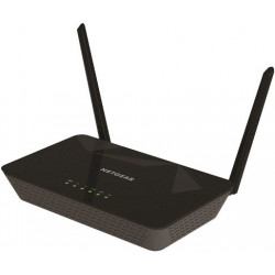 Netgear D1500 wireless router Fast Ethernet