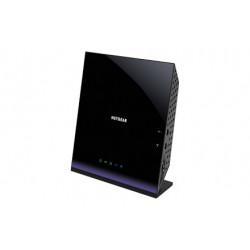 Netgear AC1600 router inalámbrico Doble banda (2,4 GHz / 5 GHz) Gigabit Ethernet Negro D6400-100PES