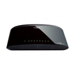 D-Link DES-1008D Non gestito Fast Ethernet (10/100) Nero