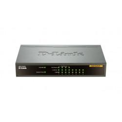 D-Link DES-1008PA Netzwerk-Switch Unmanaged Fast Ethernet (10/100) Schwarz Power over Ethernet (PoE)