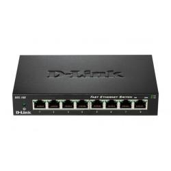 D-Link DES-108 Netzwerk-Switch Unmanaged Fast Ethernet (10/100) Schwarz
