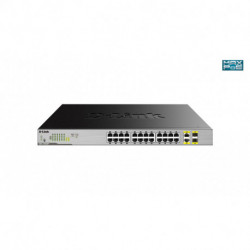 D-Link DGS-1026MP Netzwerk-Switch Unmanaged Gigabit Ethernet (10/100/1000) Schwarz, Grau Power over Ethernet (PoE)