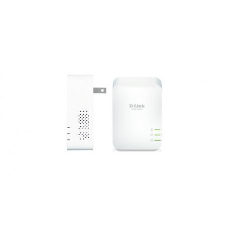 D-Link DHP-601AV adaptador de rede elétrica Ethernet LAN Branco 2 peça(s)