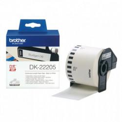 Brother Cinta continua de papel térmico (blanca) DK22205