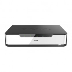 D-Link DNR-2020-04P network video recorder Black,White