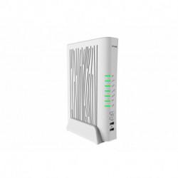 D-Link AC2200 router inalámbrico Doble banda (2,4 GHz / 5 GHz) Gigabit Ethernet Blanco DVA-5593