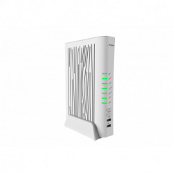 D-Link AC2200 wireless router Dual-band (2.4 GHz / 5 GHz) Gigabit Ethernet White DVA-5593