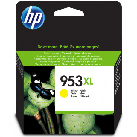 HP 953XL Original Gelb F6U18AE
