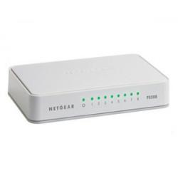 Netgear FS208 Non gestito Bianco FS208-100PES