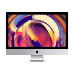 "Apple iMac 68,6 cm (27"") 5120 x 2880 pixels 8th gen Intel® Core™ i5 8 GB DDR4-SDRAM 1000 GB Fusion Drive Prateado PC MRR02T/A"