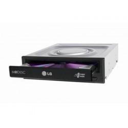 LG GH24NSD5 unidade de disco ótico Interno Preto DVD Super Multi DL