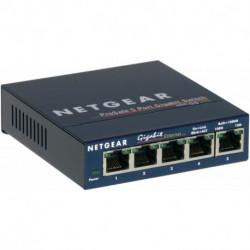 Netgear GS105 No administrado Gigabit Ethernet (10/100/1000) Azul GS105GE