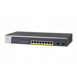 Netgear GS510TPP Gestionado L2/L3/L4 Gigabit Ethernet (10/100/1000) Negro Energía sobre Ethernet (PoE) GS510TPP-100EUS