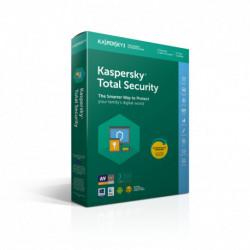 Kaspersky Lab Total Security 2019 Licence complète 3 licence(s) 1 année(s) Italien KL1949T5CFS-9SLIM