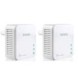 Tenda P200 Twin Pack 200 Mbit/s Eingebauter Ethernet-Anschluss Weiß 2 Stück(e) P200 KIT