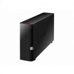 Buffalo LinkStation 210 Collegamento ethernet LAN Nero NAS LS210D0201-EU