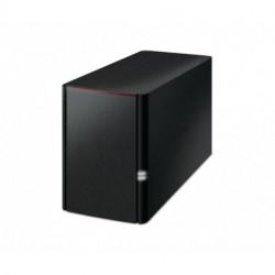 Buffalo LinkStation 220 Collegamento ethernet LAN Nero NAS LS220DE-EU