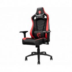MSI MAG CH110 cadeira para videojogos Cadeira de jogos para PC Preto, Vermelho