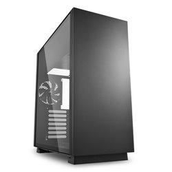 Sharkoon Pure Steel Midi ATX Tower Negro PURE STEEL BLACK