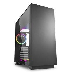 Sharkoon Pure Steel Midi ATX Tower Negro PURE STEEL RGB