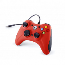 NACON GC-100XF Gamepad PC Analógio USB Preto, Vermelho PCGC-100RED