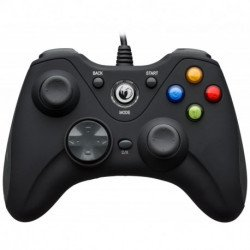 NACON PCGC-100XF Spiele-Controller Gamepad PC Analog / Digital USB Schwarz