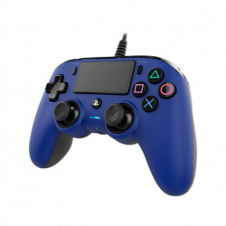 NACON Manette filaire compacte pour Playstation 4 PS4OFCPADBLUE