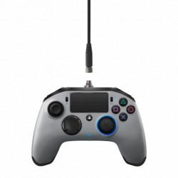 NACON Revolution Pro Manette de jeu PlayStation 4 Analogique/Numérique USB 3.0 Argent PS4OFPADREVSILVER