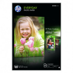 HP Q2510A papel fotográfico Preto, Azul, Branco A4