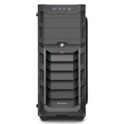 SHARKOON CASE ATX SKILLER SGC1 RGB, 7 SLOT, 2XUSB3, 1X120MM FRONT, 1X120MM RGB REAR, WINDOW, RGB, BLACK