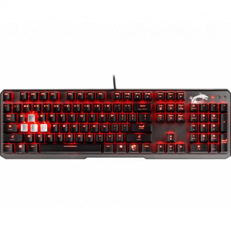 MSI VIGOR GK60 Tastatur USB QWERTY Schwarz S11-04IT213-PA3