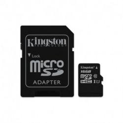 Kingston Technology Canvas Select cartão de memória 16 GB MicroSDHC Class 10 UHS-I SDCS/16GB