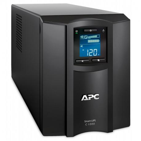 APC SMC1000IC sistema de alimentación ininterrumpida (UPS) Línea interactiva 1000 VA 600 W 8 salidas AC