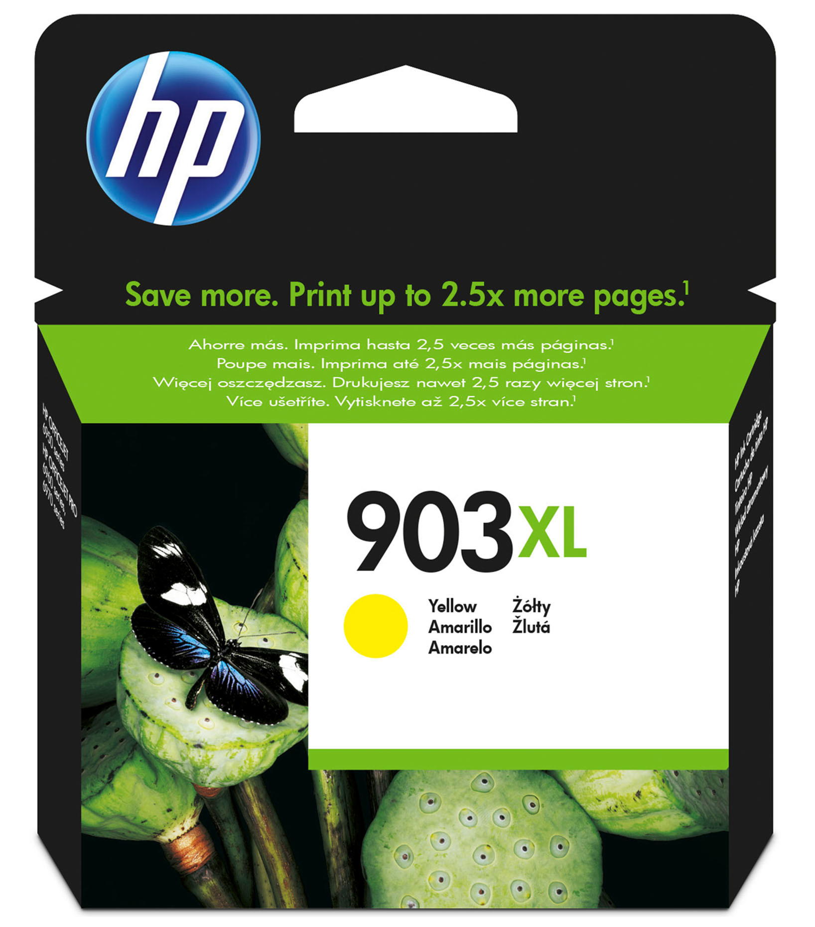 Black,Cyan,Magenta /& Yellow Original OEM Ink Cartridges HP No 903XL Set of 4