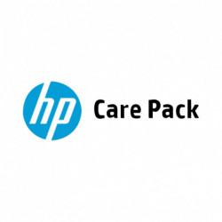 HP 3 años de servicio con recogida y devolución solo para ordenador portátil U9BA4A