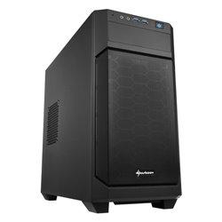 SHARKOON CASE MINI-ITX, MICRO-ATX, 2XUSB3.0, AUDIO IN-OUT, 1X120MM FAN FRONT, 1X120MM FAN REAR V1000