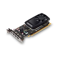 PNY VGA QUADRO P1000 PASCAL 640 CUDA CORES 4GB GDDR5 MINI DP 1.4 LOW PROFILE VCQP1000-PB