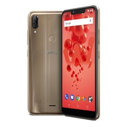 "Wiko View 2 Plus 15.1 cm (5.93"") 4 GB 64 GB Dual SIM Gold 4000 mAh WIKVIEW2PLUSGOLST"