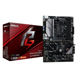 Asrock X570 Phantom Gaming 4 placa base Zócalo AM4 ATX AMD X570 X570 PHANTOM GAM 4