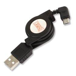 Lindy 0.8m USB 2.0 Cable câble USB 0,8 m USB A Micro-USB B Noir 31619