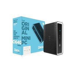 Zotac ZBOX CI640 nano i5-8250U 1,60 GHz SFF Schwarz BGA 1356 ZBOX-CI640NANO-BE