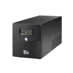 iTek WalkPower 1000 Unterbrechungsfreie Stromversorgung (UPS) 1000 VA 600 W 4 AC-Ausgänge ITUWP1K