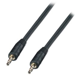 Lindy 35642 câble audio 2 m 3,5mm Noir