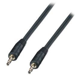 Lindy 35642 cable de audio 2 m 3,5mm Negro
