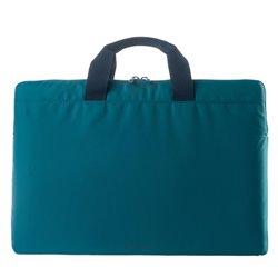 "Tucano Minilux mala para portáteis 35,6 cm (14"") Estojo Azul BFML1314-B"