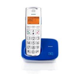 Brondi Bravo Gold 2 DECT-Telefon Blau, Weiß Anrufer-Identifikation 10273163