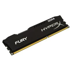 KINGSTON RAM HYPERX FURY DIMM 8GB DDR4 2400MHZ CL15 BLACK HX424C15FB2/8