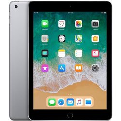 APPLE IPAD WI-FI + CELLULAR 128GB SPACE GREY (2018) 9,7 MR722TY/A